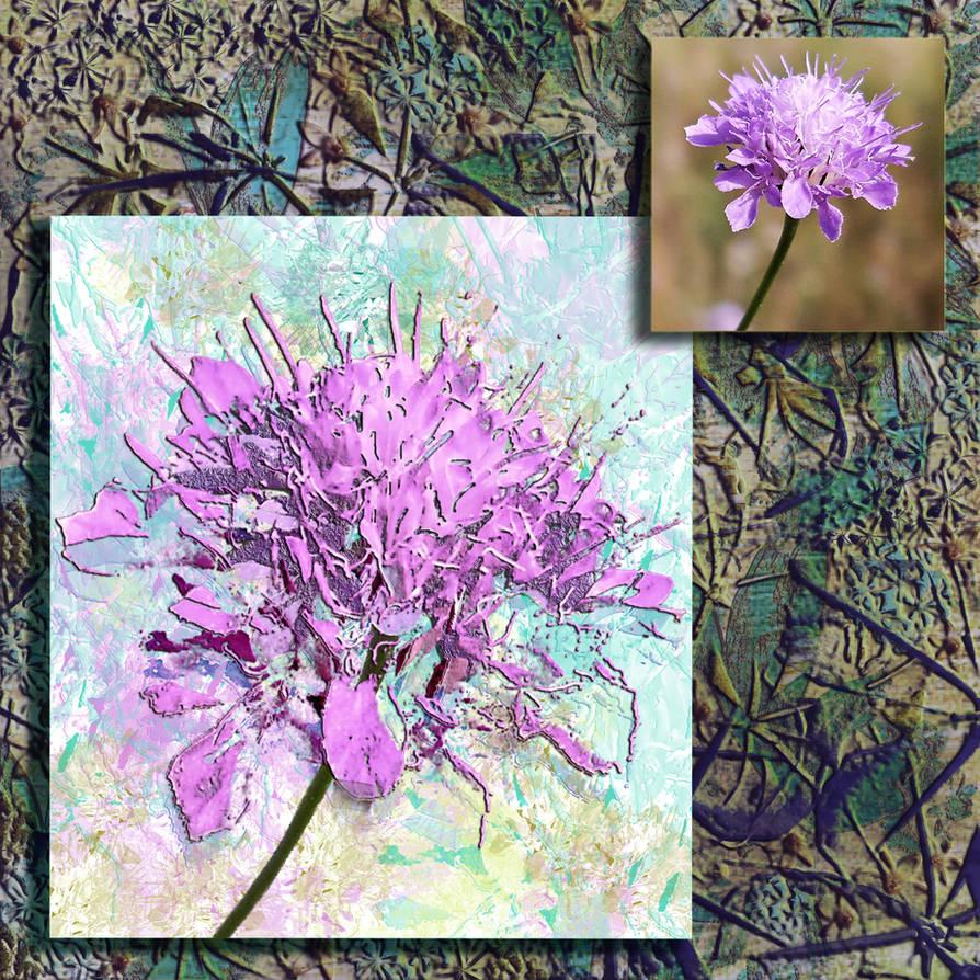 Flower-brush by olympiadakasatou