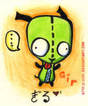 Invader Zim -- GIR. Adorable.