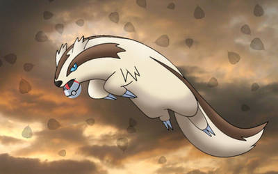 Linoone the august pokemon by Thunderwest