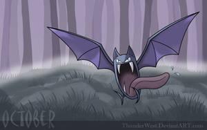 Golbat, the October pokemon by Thunderwest