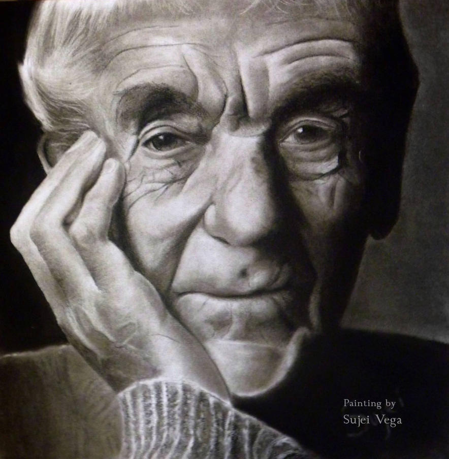 Portrait  of an old man by Thunderwest