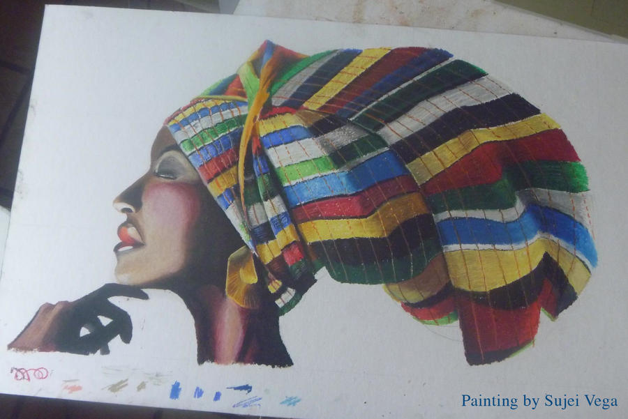African Turban by Thunderwest
