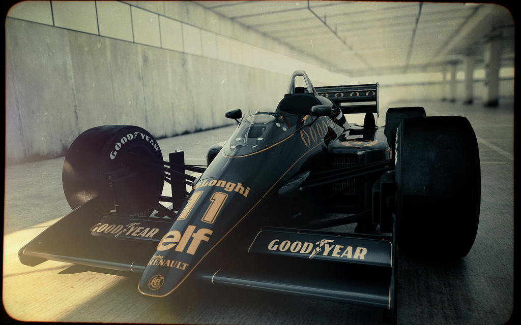 Lotus 98T by blakk