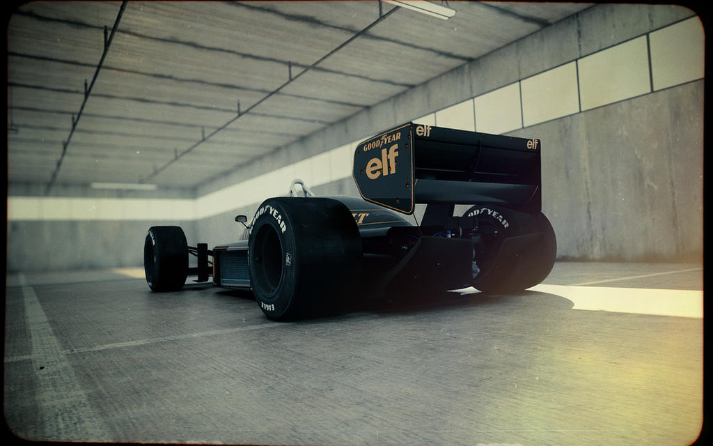 Lotus 98T #3 by blakk