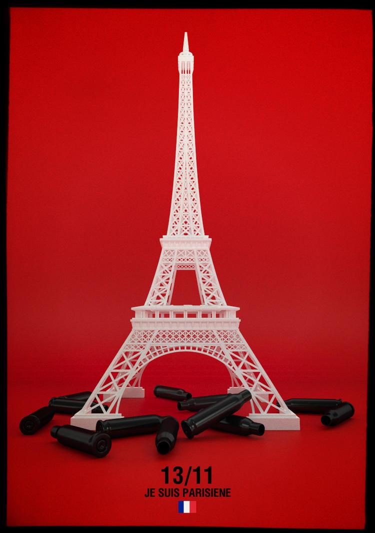 Je Suis Parisiene by blakk