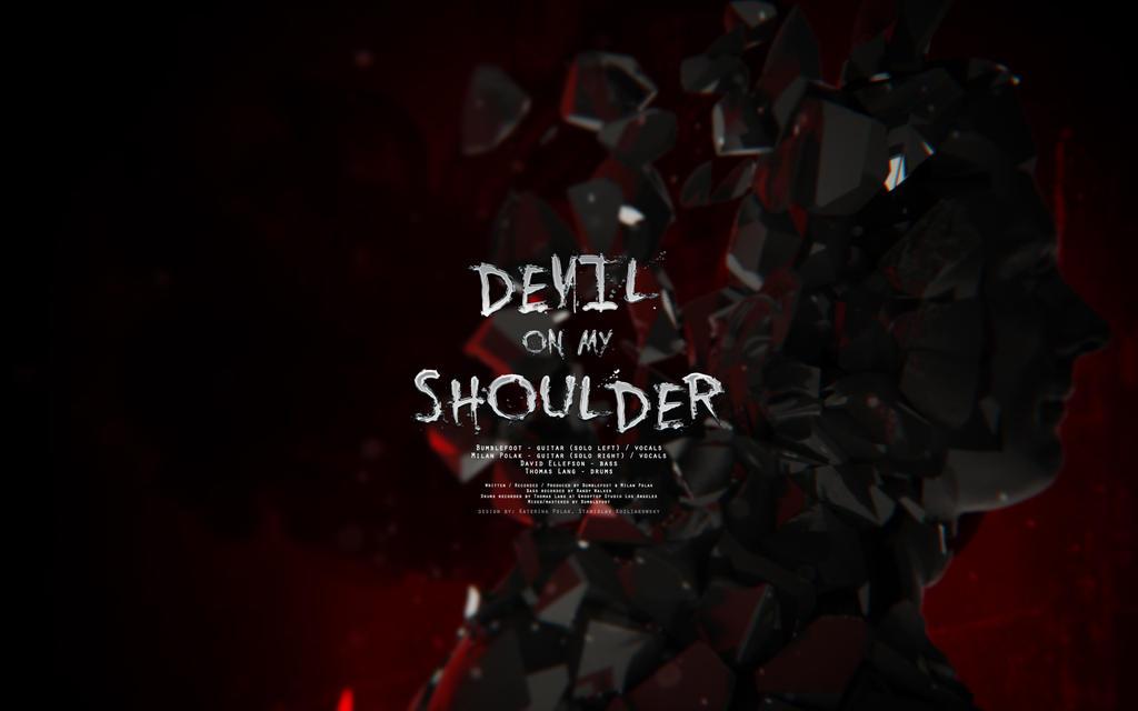 Devil on my shoulder II by blakk