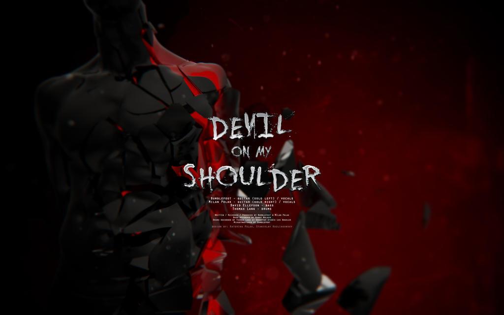 Devil on my shoulder III by blakk