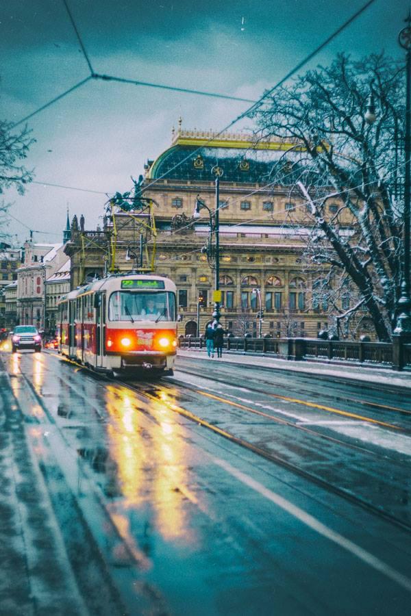 Winter in Prague #1 by blakk