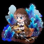 [COMMISSION] Chibi Green by NightYuu