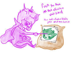 im not a wwizard kan by Totesumi