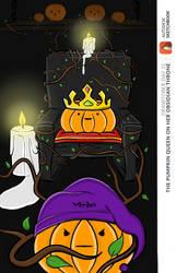 The Pumpkin Queen by Miartmint