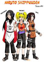 Naruto Shippuuden: Team 9 by zoro4me3