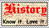 Stamp: History by zoro4me3