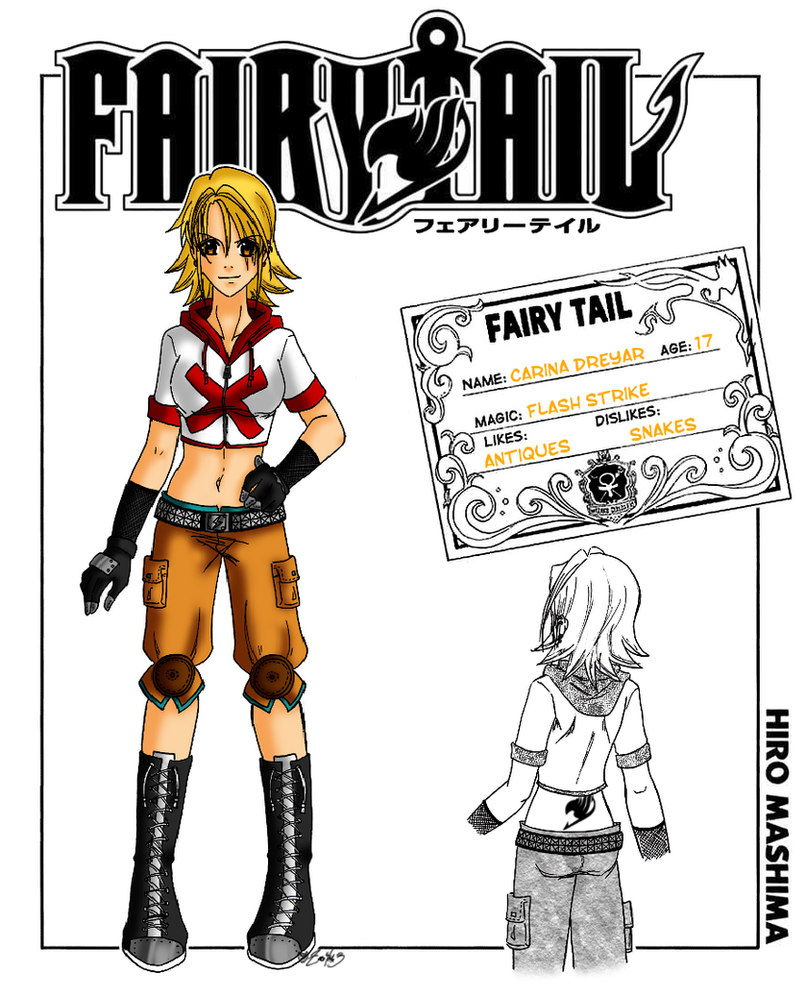 Fairy Tail Guild Member: Carina D. by zoro4me3 on DeviantArt