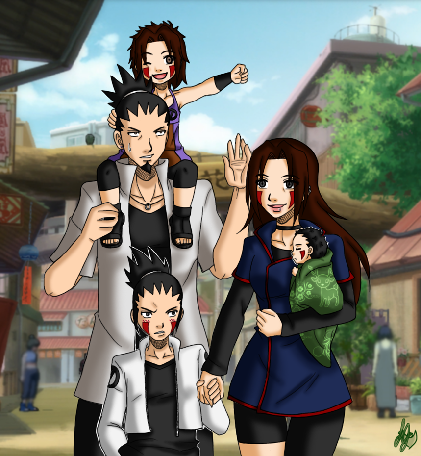 Anime News New Naruto Anime Movie Featuring Naruto S: Shikamaru Family Gallery