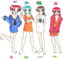 OT Girls in Shirts by zoro4me3