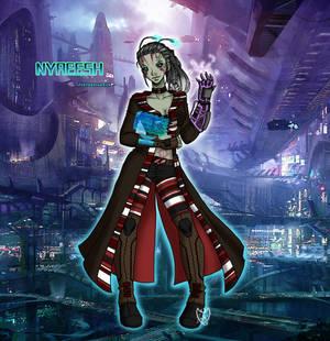 StarFinder OC: Nyreesh