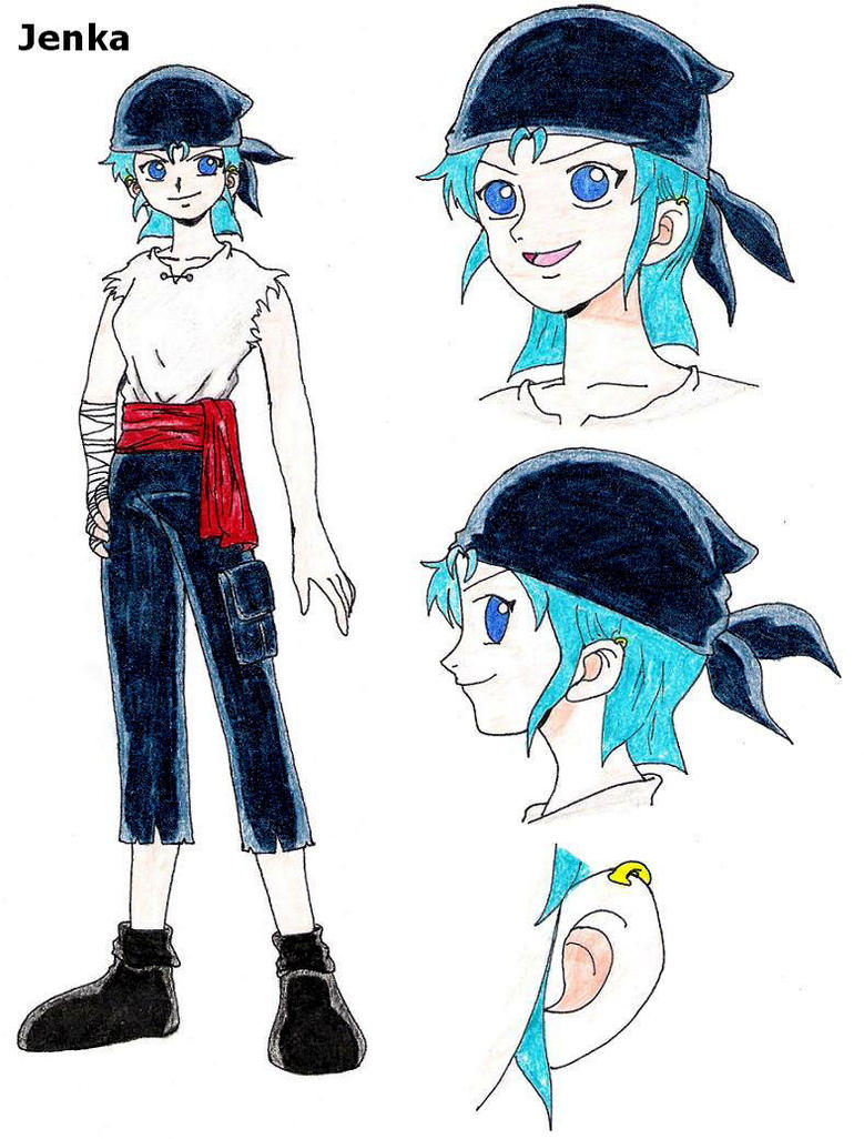 1 Piece Anime Characters : One piece character jenka by zoro me on deviantart