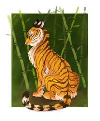 tiger tiger tiger by ninibleh