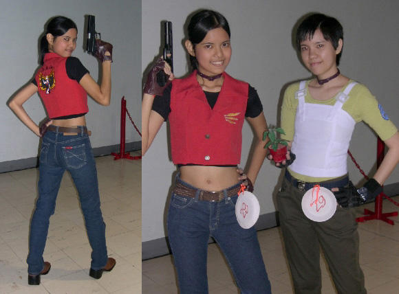 Resident Evil sisters by MysticYuna