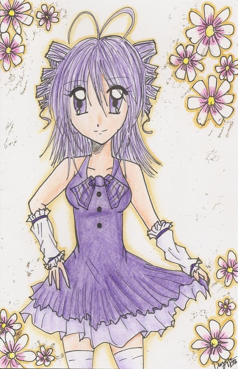 Purple Card by Good-Anime