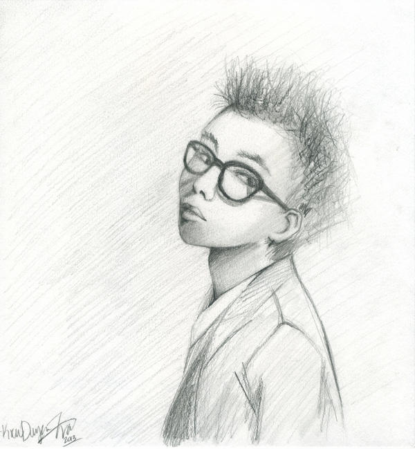 G dragon drawing by good anime on deviantart for Good sketches to draw