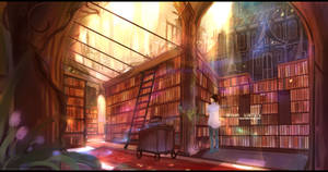 Wiser Library by Bephilops