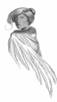 Feathered cloak speedpaint