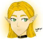 BotW Zelda (Fire Emblem: Three Houses Style)