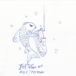 Inktober 2020 - Fish