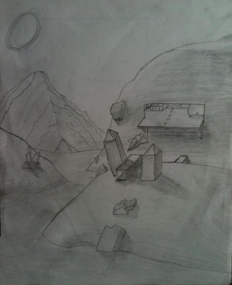 Mountain Base by joycem137