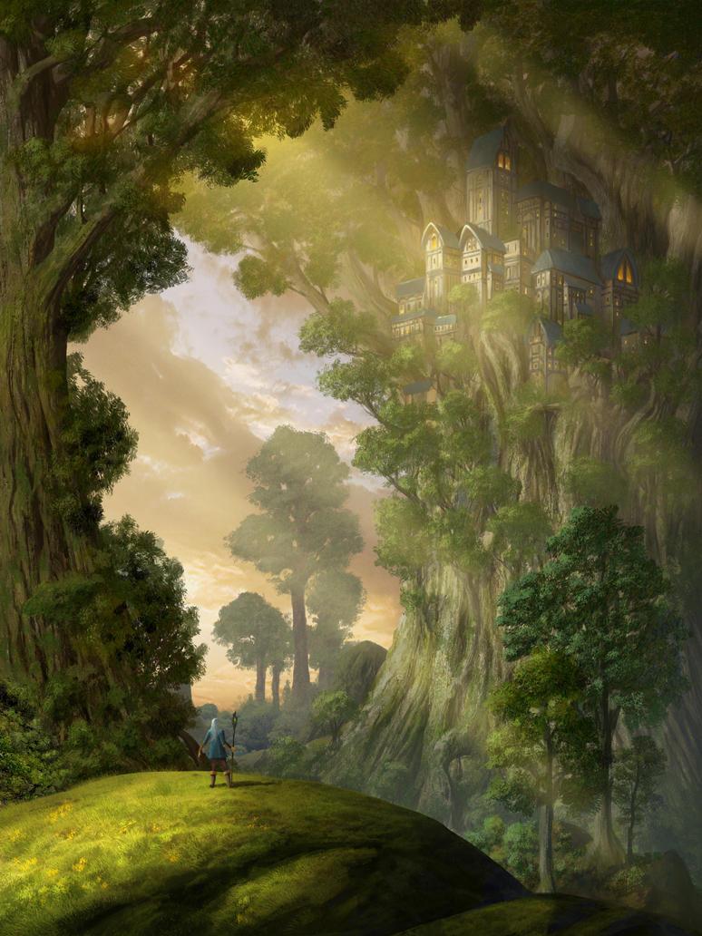 Treecastle by Paintangel13