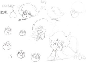Roy Face Sketch