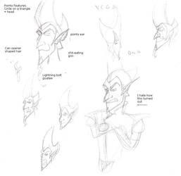 Vega Face Sketch