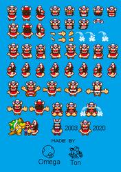 Booster Mario and Luigi Superstar Saga Style