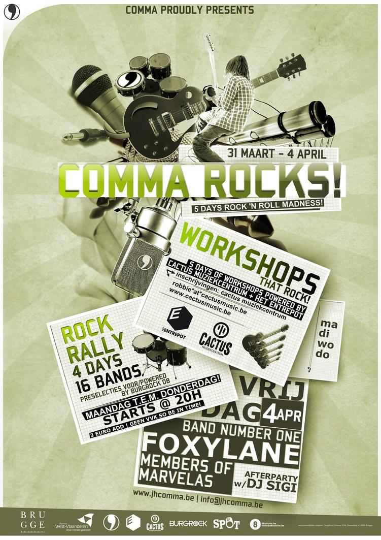 Comma Rocks 08 predesign by Destin8x