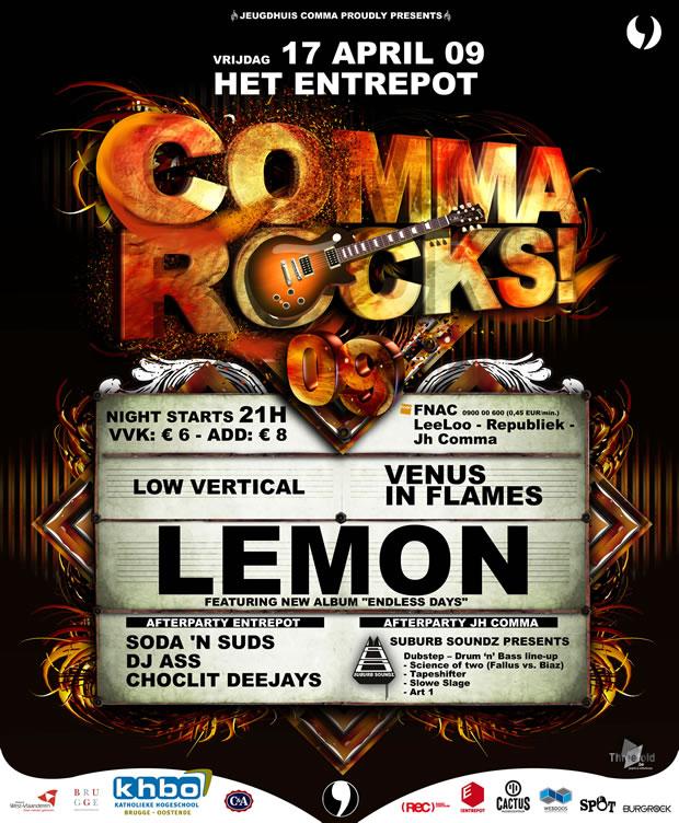 Comma Rocks 09