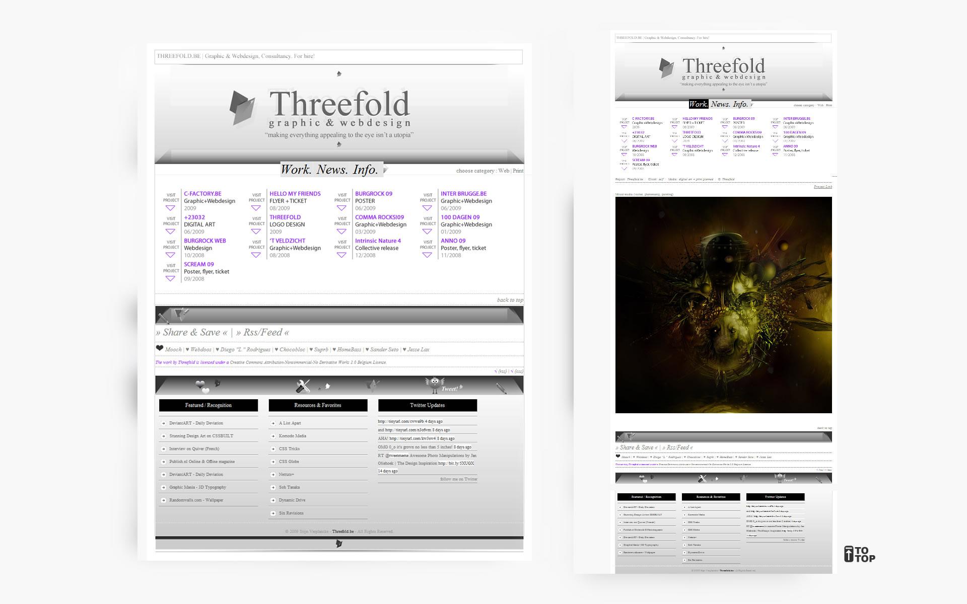 Threefold b3ta+ by Destin8x