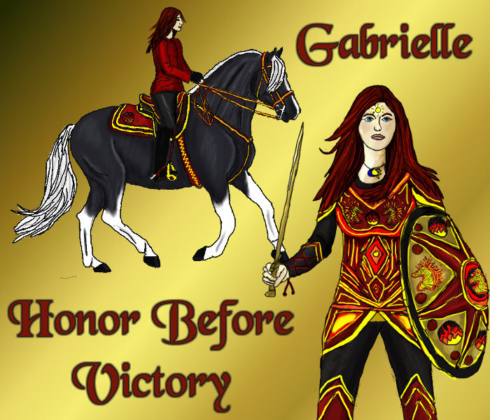 Warriors Of The Dawn: Gabrielle, Warrior Of The Dawn By Equus-Elementum On