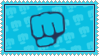 Brofist Stamp by TinyCherry