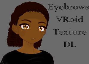 VRoid Eyebrow Texture #2 P2U DL