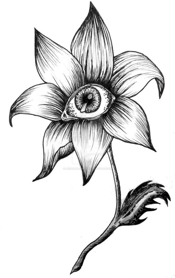 fleur oeil by angedubizarre on deviantart