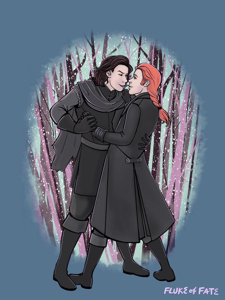 Winter Hunt Dance by FlukeOfFate