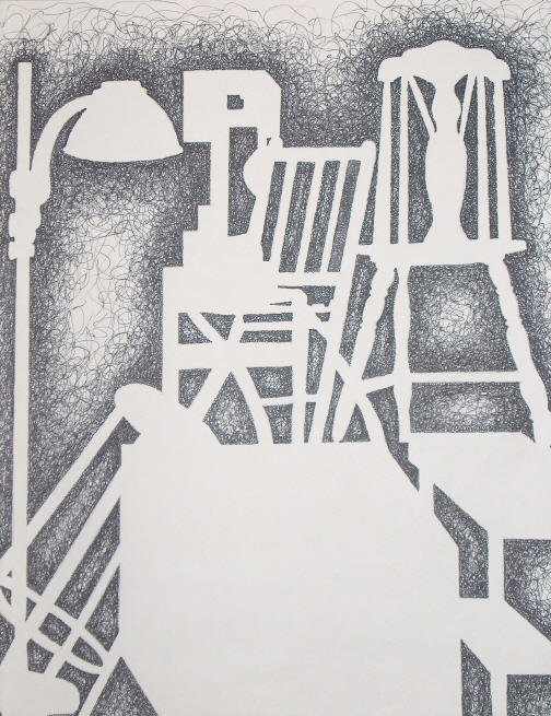 Negative Space Still Life by FlukeOfFate on DeviantArt Negative Space Drawing Still Life