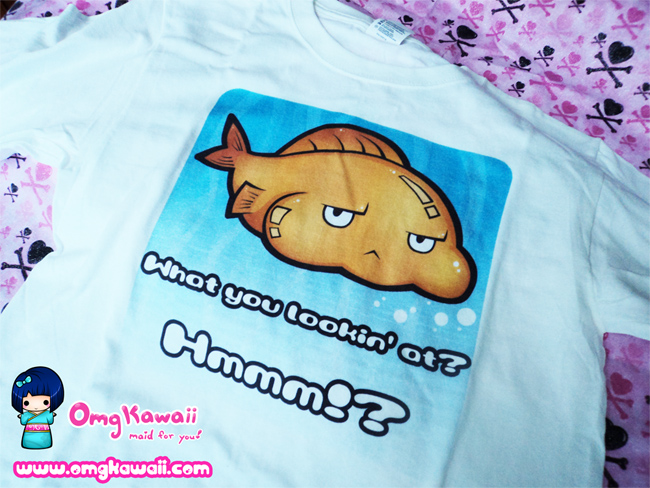 .+ Puffy Fishy T-shirts $20 +. by tobi2moodring