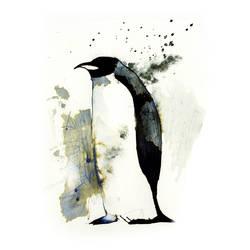 InkAnimals - Penguin by Duffzilla