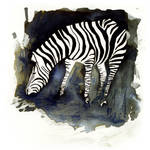 InkAnimals - Zebra