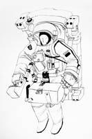 Space Machine by Duffzilla