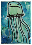 Little Paintings - Jellyfish by Duffzilla