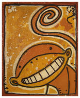 Little Paintings - Monkey by Duffzilla